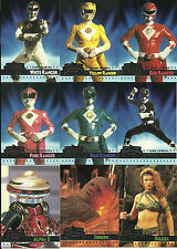 MIGHTY MORPHIN POWER RANGERS: THE MOVIE - COMPLETE SET OF 150 - (FLEER ULTRA)