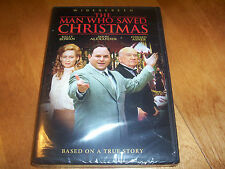THE MAN WHO SAVED CHRISTMAS Kelly Rowan Jason Alexander Holiday Classic NEW DVD
