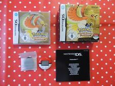 Pokemon HeartGold d'or EDITION NINTENDO DS LITE xl 3ds + pokewalker OVP