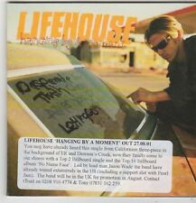 (FJ278) Lifehouse, Hanging By A Moment - 2001 DJ CD