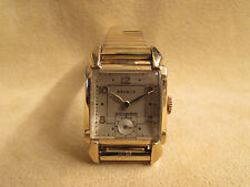 Vintage Benrus Men's 10kt Yellow Gold Filled Hand-Wind Watch And Mony Clip