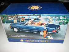 Franklin Mint Mercedes Benz 450SL Roadster Convertible Diecast Car ~Country Club