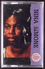 Nina Simone-Live at Ronnie Scott's LP CASSETTE WADHAM 1987 SEALED OOP