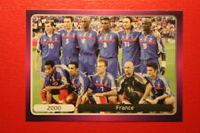 Panini EURO 2012 N. 533 FRANCE NEW With BLACK BACK TOPMINT!!