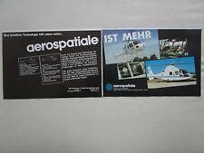 6/1984 PUB AEROSPATIALE HELICOPTERE ECUREUIL DAUPHIN 2 SAMU AMBULANCE GERMAN AD