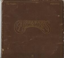 VINTAGE 78 THE CARPENTURES 1969 TO 1973 COVER USED ALBUM MINT