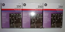 3 boxes NEW 150 clear Icicle-style Lights Random Sparkle GE Wedding white wire