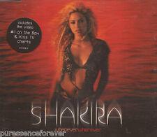 SHAKIRA - Whenever Wherever (UK 4 Trk Enh CD Single)