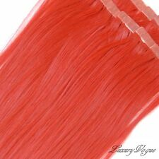 """40pcs 20"""" Hi-Temp SYN 3M Tape-in Hair Extensions #RED  PARTY Colors by Lux.Vogue"""