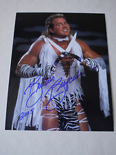 Signed Brutus 'The Barber' Beefcake WWE Wrestling 12x8 Photo - Proof & C.O.A.