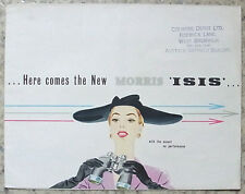 MORRIS ISIS Car Sales Brochure June 1955 #H&E 5543