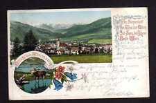 110539 AK Mürzzuschlag Steiermark um 1905 Zensur Überprüft  Wien 1