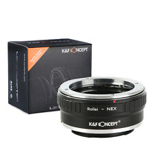 K&F Concept Lens Adapter Ring for Rollei QBM Lens to Sony E A5000 NEX-5T NEX-3N