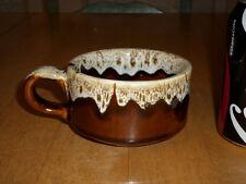 HANDMADE -- ROOT BEER FLOAT, Ceramic Coffee Cup / Mug, Vintage