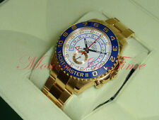 Rolex Yacht-Master II 18kt Yellow Gold 44mm Oyster Regatta Chronograph 116688
