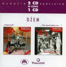 2CD DŻEM / DZEM Najemnik / The band plays on.. R. RIEDEL