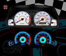 MG-TF STEPTRONIC 150MPH MARK 2 PLASMA WHITE DIAL KIT FOR SPEEDO DASHBOARD