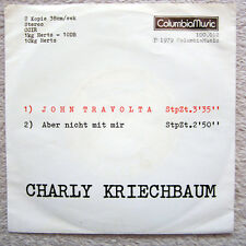 Single / CHARLY KRIECHBAUM / RARITÄT / 1979 / AUSTRIA /