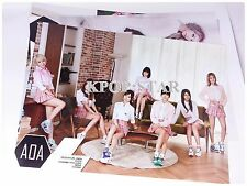 AOA Posters 12 Pcs (with Sticker ) Collection Bromide KPOP Korean Pop