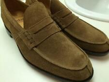 NIB TRICKER'S of Jermyn Street Men's POE Penny Loafers Suede 12.5 US / 11.5 EURO