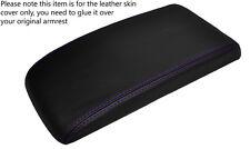 En cuir violet stitch accoudoir peau couvrir fits CHEVROLET cobalt PONTIAC G5 05-10