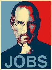 "Steve Jobs Co-founder of Apple Corp poster 32"" x 24"" Decor 01"