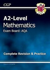 A2 Maths AQA Complete Revision & Practice by CGP Books (Paperback, 2011)