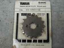 Yamaha YZ125 DT125 MX175 TY250 YA6 YAS1 AS2C CT1 HT1 CS5 AT1 Sprocket Drive 15T