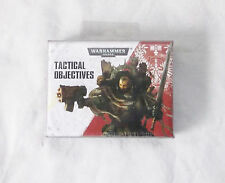 Warhammer 40k Tactical Objective Datacards NEW Factory Sealed!