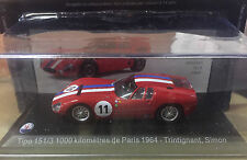 "DIE CAST "" TIPO 151/3 1000 KILOMETRES DE PARIS  "" MASERATI 100 YEARS COLLECTION"