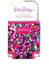 Lilly Pulitzer Drink Hugger Wild Confetti Koozie bottle/can cooler New