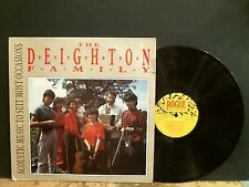 DEIGHTON FAMILY  Acoustic Music To Suit Most Occasions   LP  Cajun Folk   GREAT!