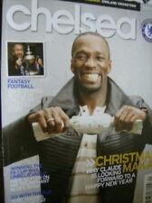 Chelsea Football Club Magazine January 2008 Makelele