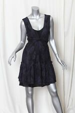MARC BY MARC JACOBS Navy LACE Sleeveless FLOWER DRESS L NEW
