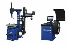 "Tyre (Tire) Changer (11""-26"") & Wheel Balancer Machine Combo-2"