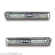 BMW E38 7 Series CLEAR SIDE REPEATERS / INDICATORS / MARKERS 94-02 728 730 735