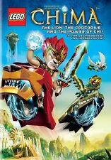 LEGO: Legends of Chima Lion, Crocodile And The Power of Chi! (DVD, 2013, 2-Disc)