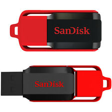 New Sandisk Cruzer Switch 8GB USB Flash Pen Drive SDCZ52 CZ52 Memory Disk 8G