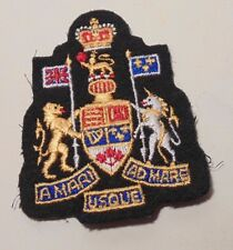 obsolete CANADA Canadian Armed Forces QC DRESS Chief WO Warrant Officer badge