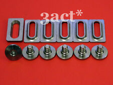 12pcs Titanium / Ti Bolts & Spacers - Shimano SPD SL Pedal Cleat SM-SH10, 11, 12
