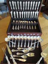 EXCL*REED BARTON*FRANCIS I*STERLING SILVER FLATWARE*SET-S-12+RARE*SERVERS*EXCL**