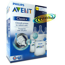 Philips Avent Classic+ SCF560/37 Baby Feeding Anti Colic Bottle 3-Pack 125ml/4oz