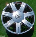 NEW Chrome Cadillac Deville DTS 17 OEM GM Factory Style WHEELS SLS Eldorado STS