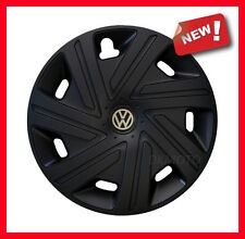 "4x16"" Wheel trims for VW GOLF CADDY SHARAN PASSAT   black"