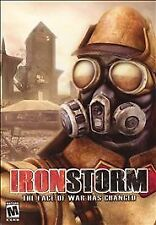 Iron Storm (PC, 2002) Ironstorm 2 disc RARE video game PC mature face of war