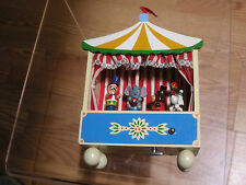 Enesco 1982 The Entertainer Music Box Vintage Circus Tent
