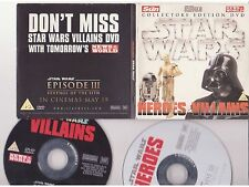 Star Wars 3 Heroes and Villains DVD @@LOOK@@