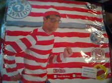 Where's Waldo Halloween Costume Sz Large