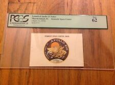 1970 Apollo 13 Launch Credential Pass NASA Astronauts Lovell Swigert Haise PCGS