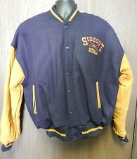 Sideout Letterman Jacket Spike Nashbar Side Out Rare !! Fast Free Shipping ! XL
